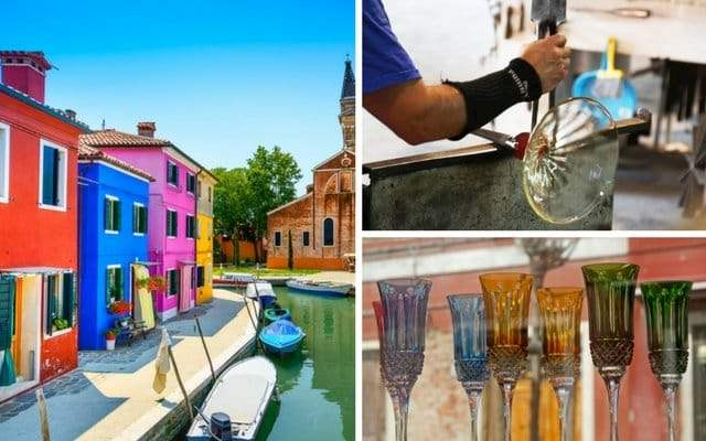 Glassblowing Burano Lacemaking