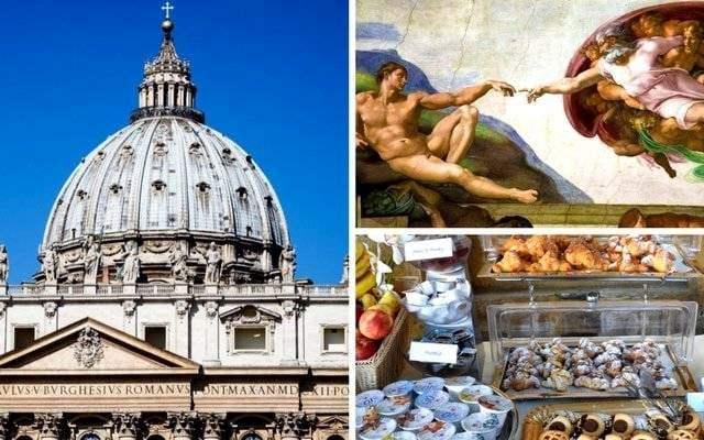 vip vatican breakfast museums