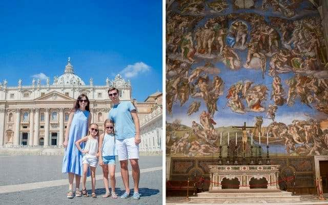 vatican museum highlights families