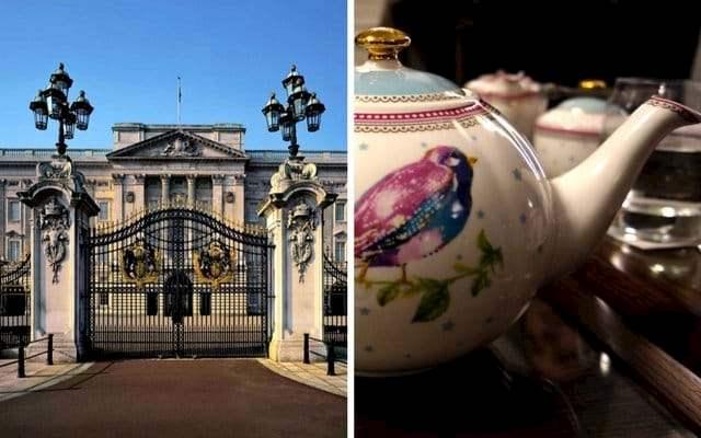 buckingham palace tickets tea