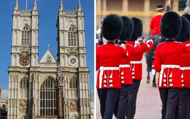 Westminster Abbey Changing Guard