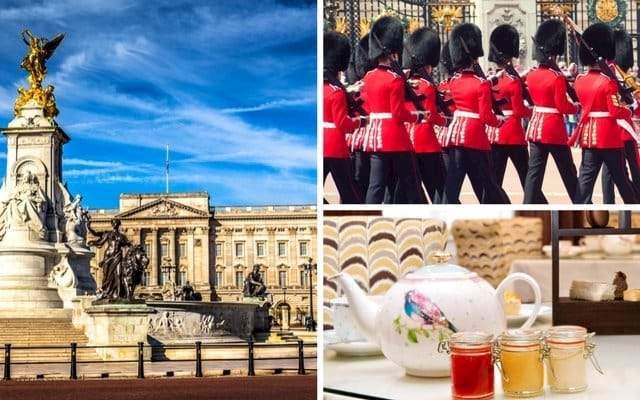 Buckingham Palace Changing Guard & Tea