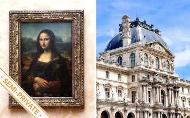 Louvre Mona Lisa Semi Private