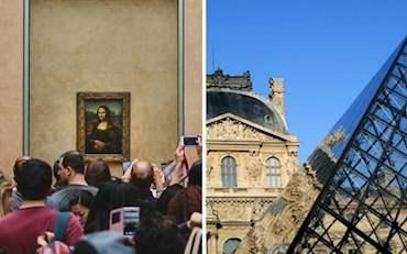Mona Lisa Louvre Group