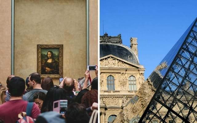 Mona Lisa Louvre Group
