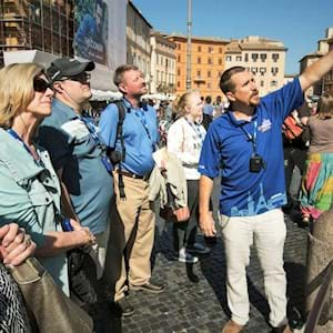 Guide in Piazza Navona