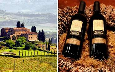 Tuscany and Brunello Wine