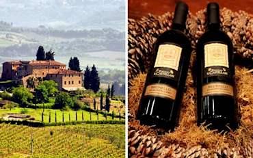 Tuscany and Brunello Wine
