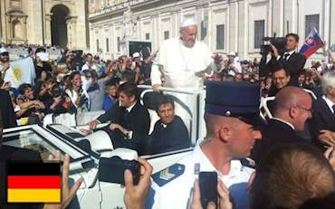 papal-audience-german