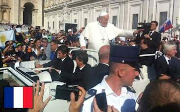 Papal Audience French Tour