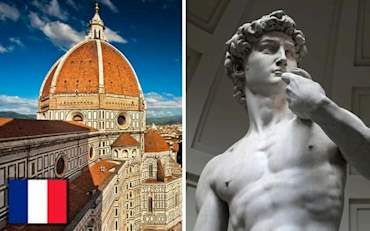 Florence Cathedral and David Statue