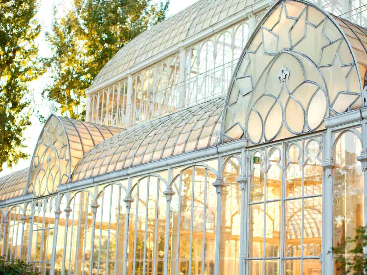 19th Century Glass Greenhouse