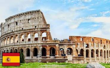 Colosseum Rome Spanish
