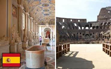 Vatican Colosseum Combo Spanish
