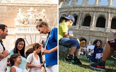Vatican and Colosseum Family