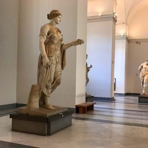 Archaeological Museum Statues Naples