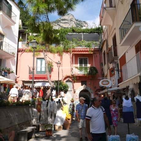 Positano and Amalfi towns