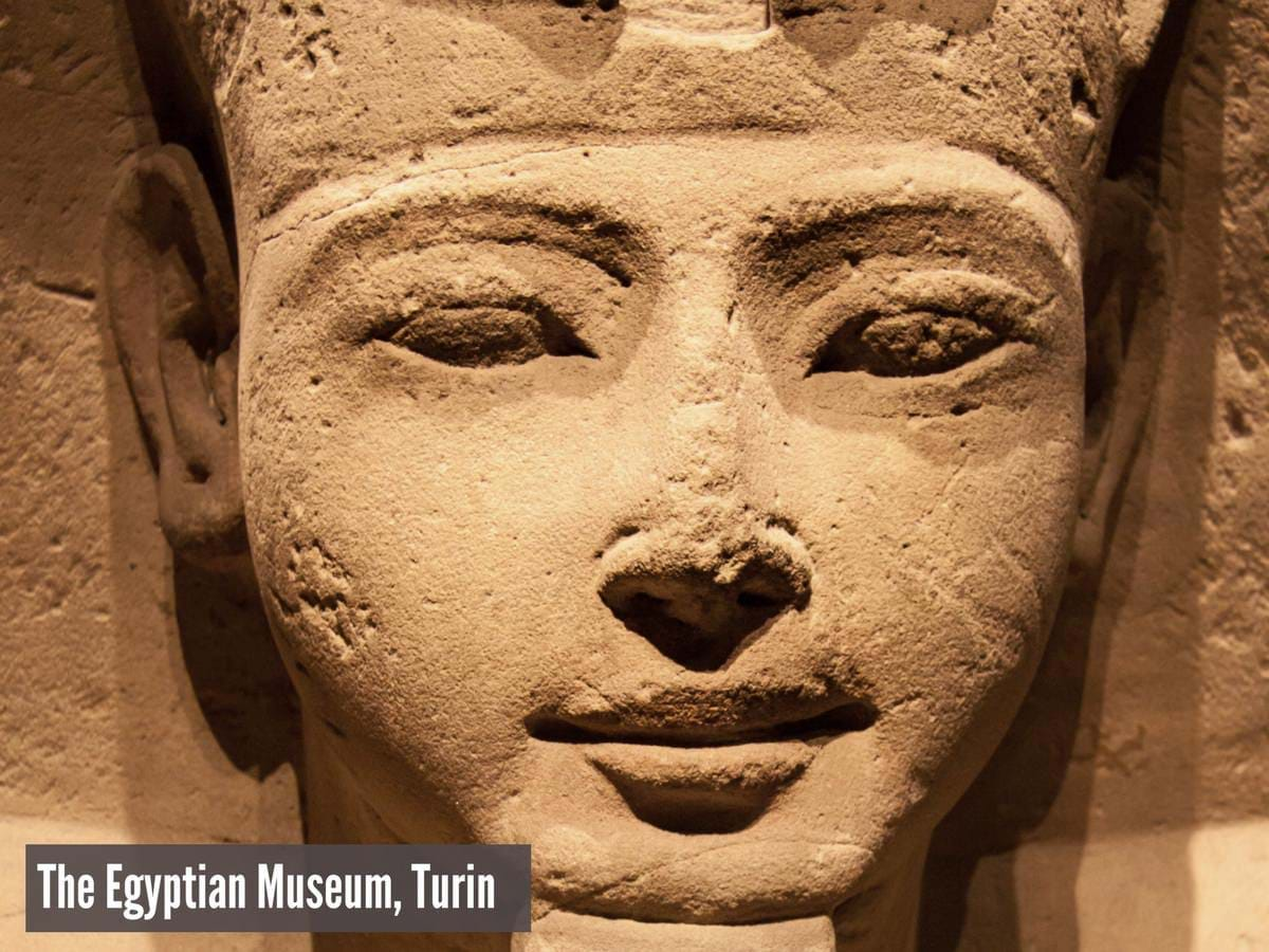 Sphinx in the Egyptian Museum, Turin