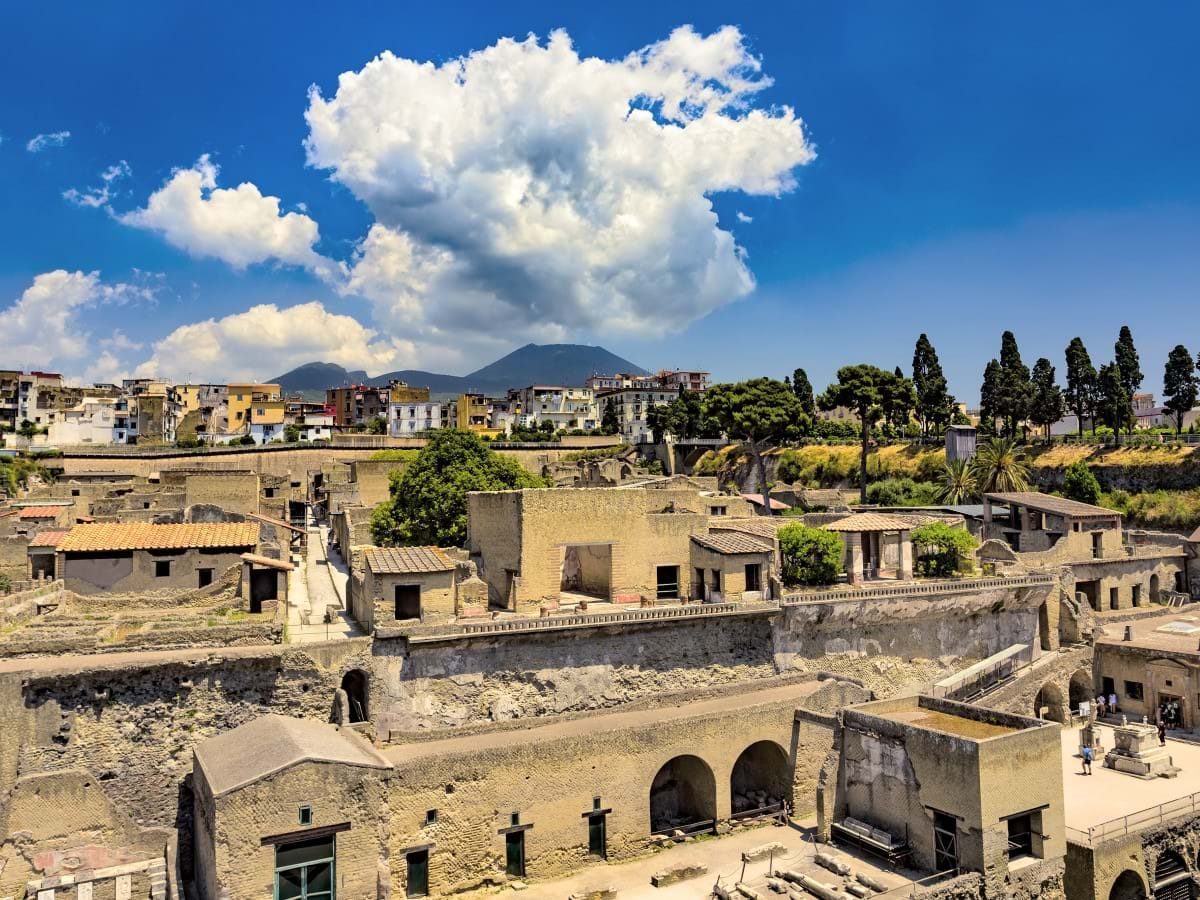 The Ruins of Herculaneum, Italy