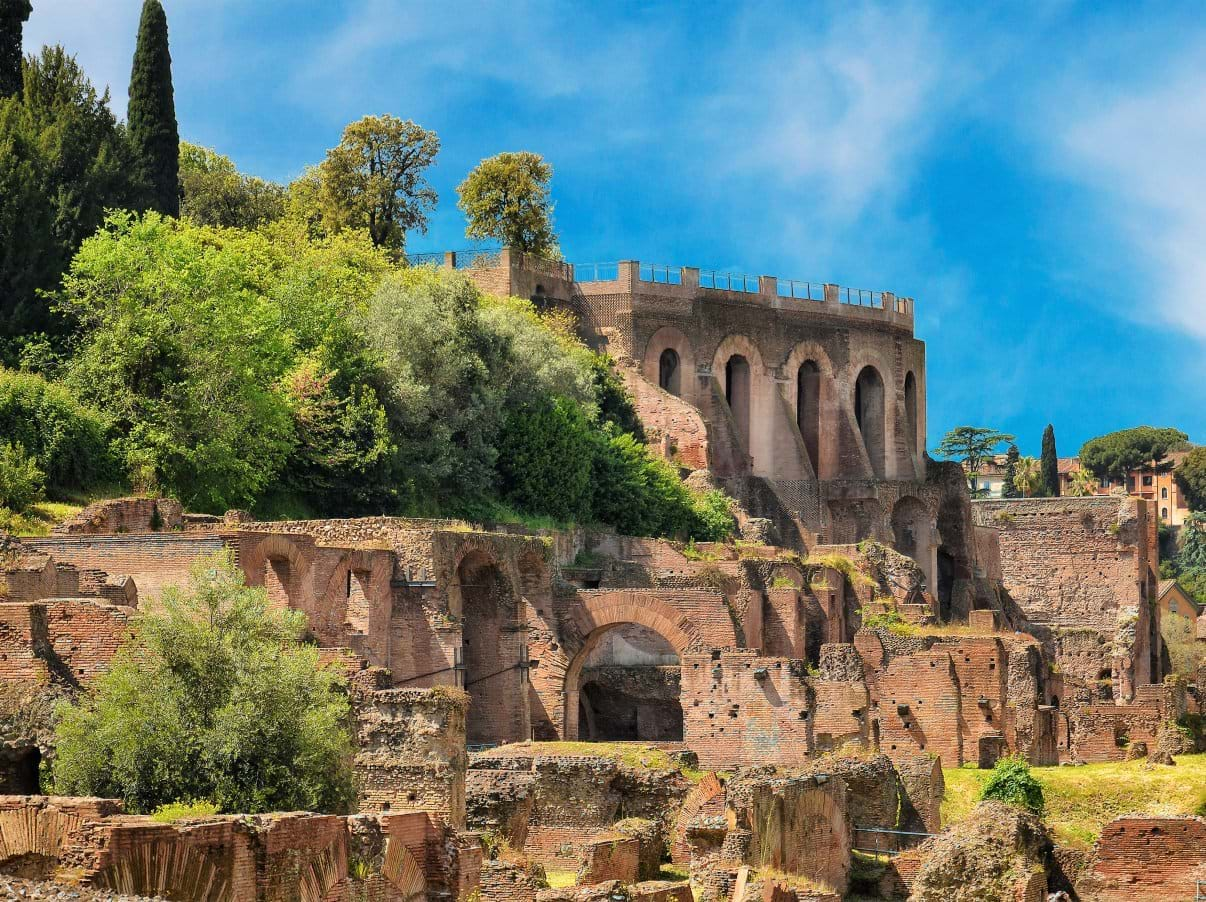 Ruins in Palatine Hill