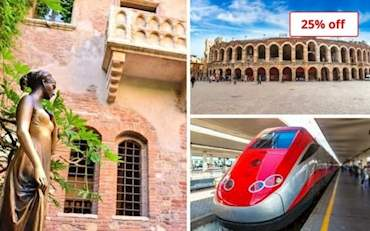 Juliets Balcony and Arena Verona