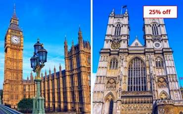 Westminster and  Parliament London