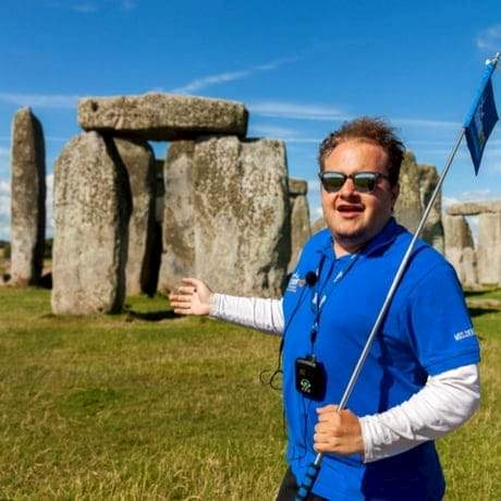 City Wonders Tour Guide at Stonehenge