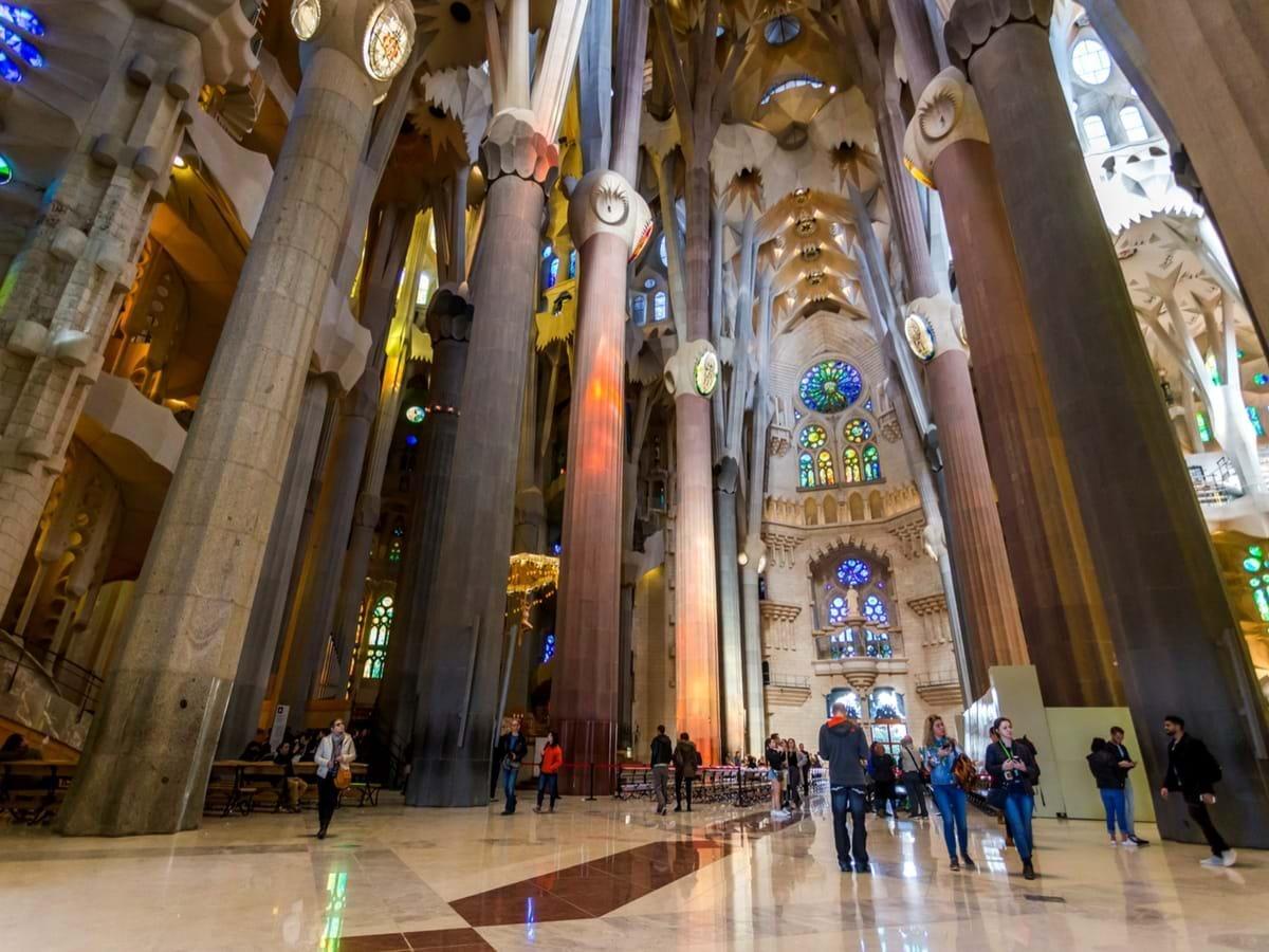 Sagrada Familia With Tower Tour Tickets City Wonders